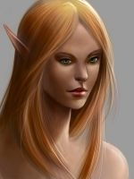 Elf Portrait by SulaMoon