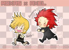 ROXAS x AXEL by CplSquee