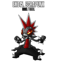 Fakemon: EX015 by MTC-Studio