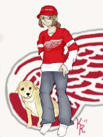 Redwings Fan by yeslek