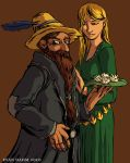 LOTR: Tom and Goldberry by devilevn