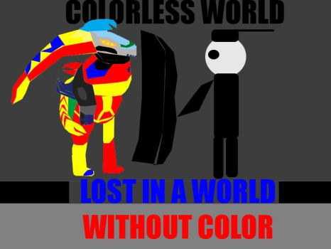 Colorless World Poster by headskull843