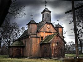 Wooden Church by marcino-mk