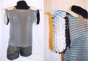 Chainmaille Armor Shirt by random-soul