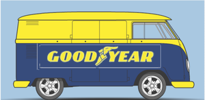 goodyear bus by kingemster