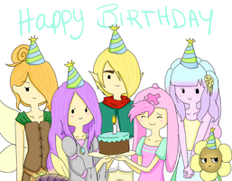 Happy Birthday XennaXDemyx by SushiiPandahh