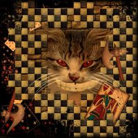 Cheshire cat by Alice-fanclub