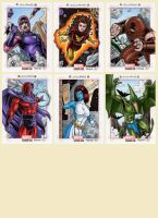 Marvel Bronze Age - X-Men Villains by tonyperna