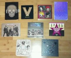 My K-Pop Collection So Far by AzureSkyx