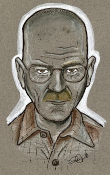 Walter White - Breaking Bad by coldgopher