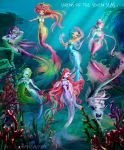 Sirens of the seven seas colored by fantazyme