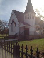 COUNTRYSIDE CHURCH READY FOR CHRISTMAS by KerensaW