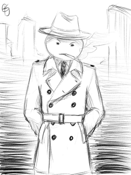 Sketchy Sleuth... by AgentSAMa