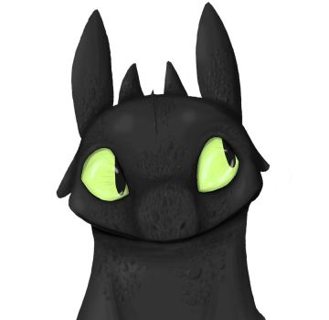 Toothless Speed Paint by assassinness