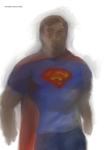 T shirt  jeans Superman by Michael-McDonnell