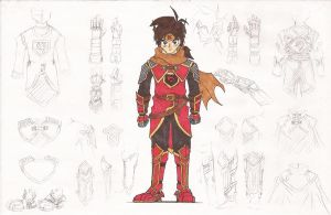 HE: Jacob Cross (The Red Guardian Armor) by Jacob-Cross