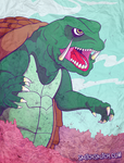 Gamera by Sketch-Skutch
