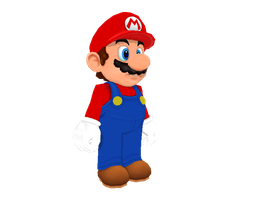 Mario Party 9 Mario for MMD (+DL) by Sticklover4