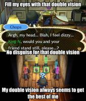 Double Vision by TheStaticStalker