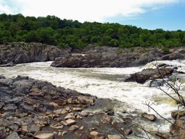 Great Falls of the Potomac 58 by Dracoart-Stock