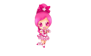 Cure Blossom Chibi by 4cherryjuice