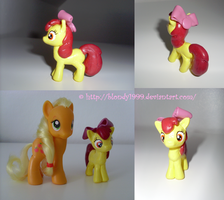 Apple Bloom sculpt by Blondy1999