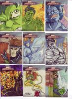 Marvel Masterpieces 2 by britbrakdown
