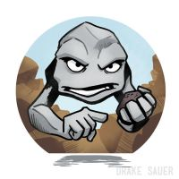 Geodude by drakeybaby
