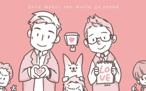 Love makes the world go round by tedizack