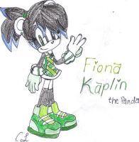Fiona Kaplin the Panda by CristinaTH
