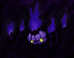 Chandelure by SilverKirby475