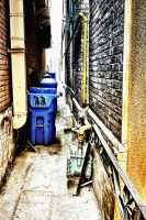 Side Alley:  Gritty by basseca