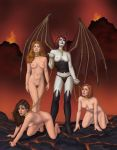 Three Gorgeous Damned - Nude by faile35