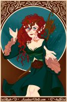 Merida Magical-Elf-by-AzaleasDolls by InvisibleDorkette