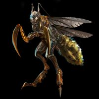 Insect-creature by showkunz