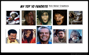 Top 10 Rick Baker Creations by monstermaster13
