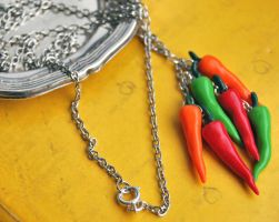 Chili necklace by Madizzo