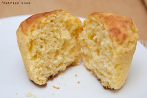 Corn bread muffin 2 by patchow