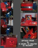 Optimus Prime by JamesRiot