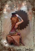 Steampunk Princess fun by cdlitestudio