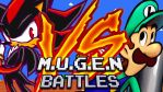 M.U.G.E.N Battles: Shadow Vs. Luigi by Ultimate-Xovers