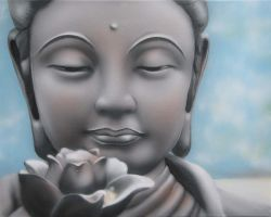 Gentle Buddha by jynx101