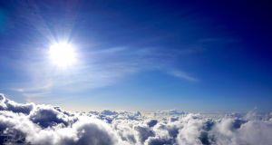 Standing Above the Clouds by JKase911