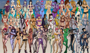 LoL Swimsuit Playmat 11.0 (5/27/2014) by Roooommmmelllll