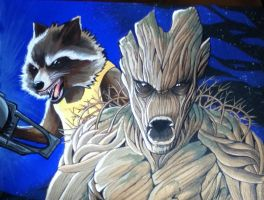 We Are Groot by RavenDANIELS