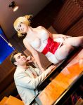 Catherine and Vincent by RivenWings