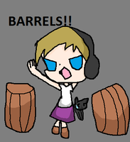 Pewdiepie plays the Witch's house BARRELS by RosetheSeedrian