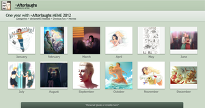 One year with: Afterlaughs 2012 by Afterlaughs