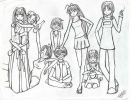 Love Hina by StarGazer1