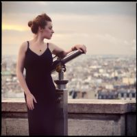 Rosa Brighid: Sunrise over Paris by JeremyHowitt
